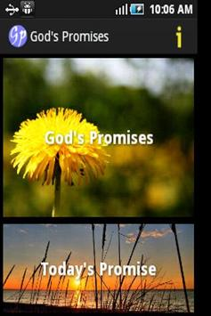 God's Promises in the Bible poster