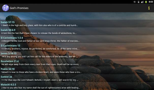 God's Promises in the Bible apk screenshot