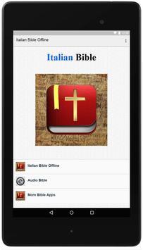 Italian Bible Offline poster