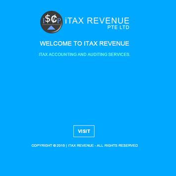 ITAX REVENUE poster