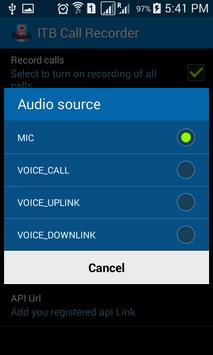 Call Recorder v.1 apk screenshot