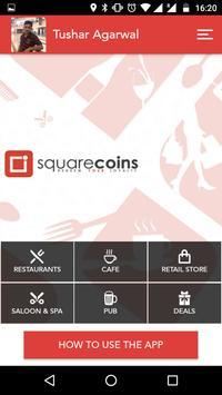 Squarecoins apk screenshot