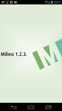 Milieu 1.2.3. poster