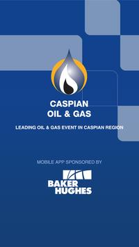 Caspian Oil and Gas 2015 poster