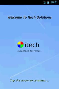 ITECH SOLUTIONS poster