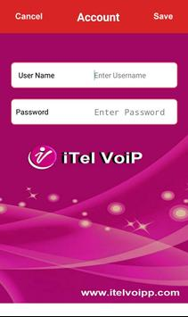 iTel Voip poster