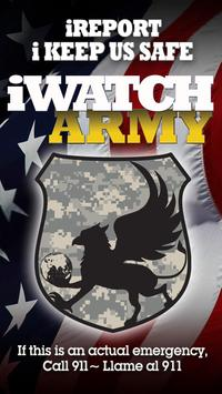 iWatch Army poster