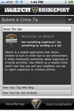 iWatchBridgeport apk screenshot
