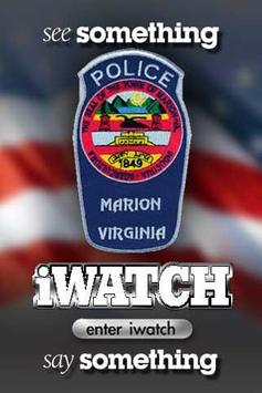 iWatch Marion poster