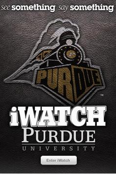 iWatch Purdue poster