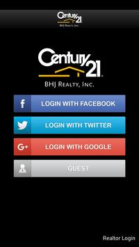 Century 21 BHJ Realty poster