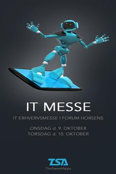 IT Messe poster
