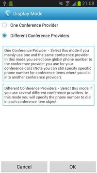 Conference Caller apk screenshot