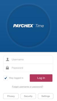 Paychex Time apk screenshot