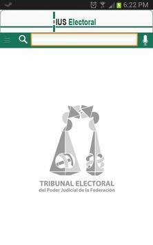 IUS Electoral poster