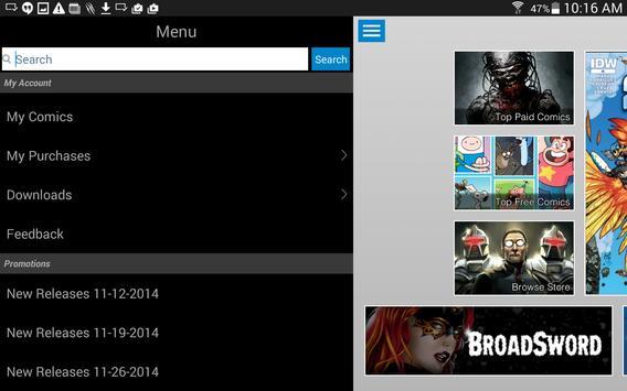 Comics Plus apk screenshot
