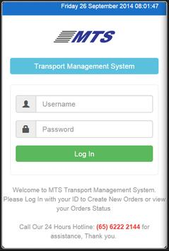 MTS Customer poster