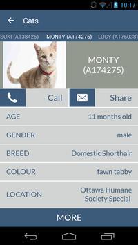 Ottawa Humane Society apk screenshot
