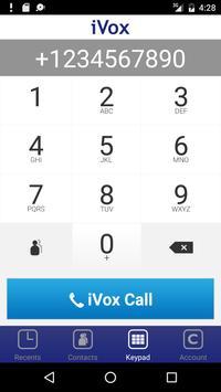 iVox Cheap International Call poster