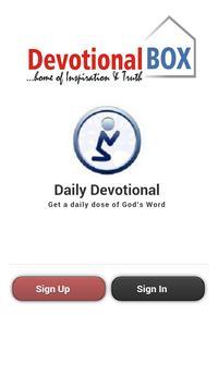Devotional Box poster