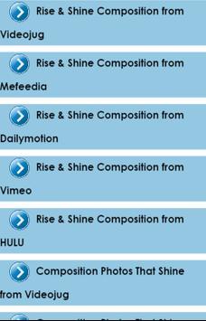 Composition Photos That Shine apk screenshot