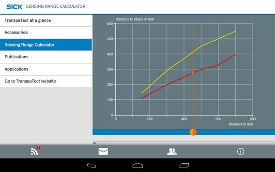 SICK TranspaTect Sensor apk screenshot