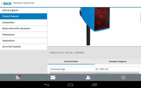 SICK G10 Sensor apk screenshot