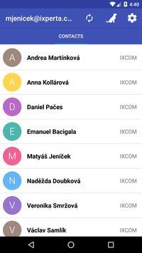 IXCOM mobilní klient apk screenshot