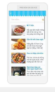 Món Ăn Ngon apk screenshot