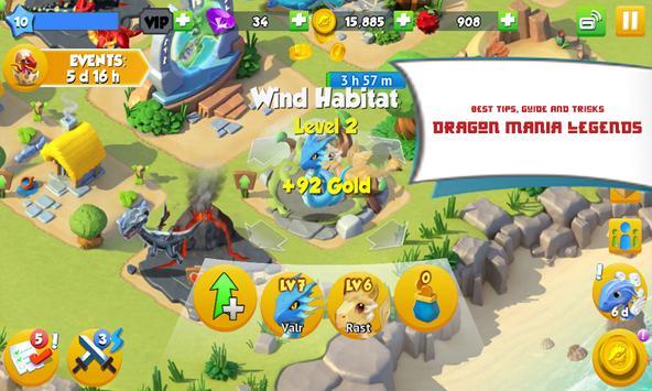 Tips Dragon Mania Legends apk screenshot