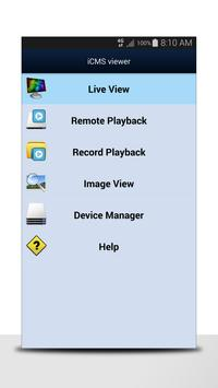iCMS viewer apk screenshot