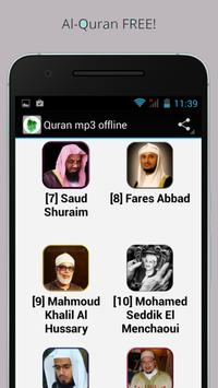 Al Quran mp3 with urdu apk screenshot