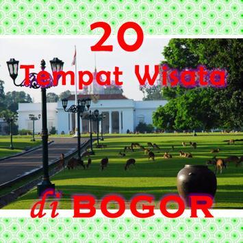 20 Tempat Wisata di Bogor poster