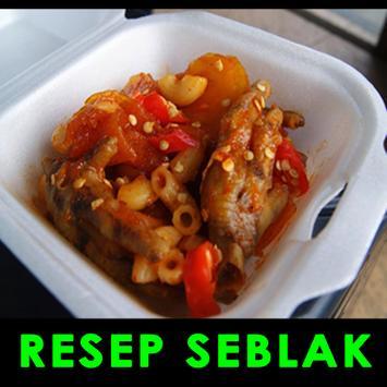Resep Seblak poster