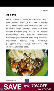 Resep Masakan Bogor poster