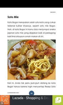 Resep Masakan Bogor apk screenshot