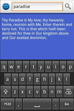 Baha'i: The Hidden Words apk screenshot