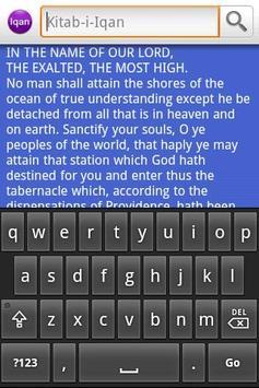 Baha'i: Kitab-i-Iqan apk screenshot