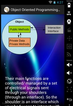Object Oriented Concepts apk screenshot