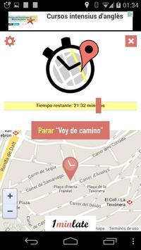 On My Way (realtime location) apk screenshot