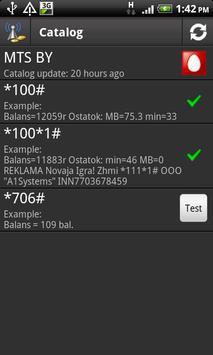 USSD Checker apk screenshot
