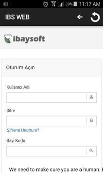 IBS-WEB apk screenshot