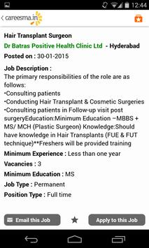 Careesma Jobs Search apk screenshot