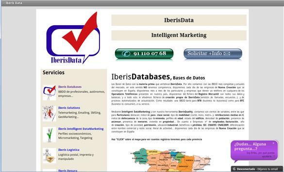 IberisData apk screenshot