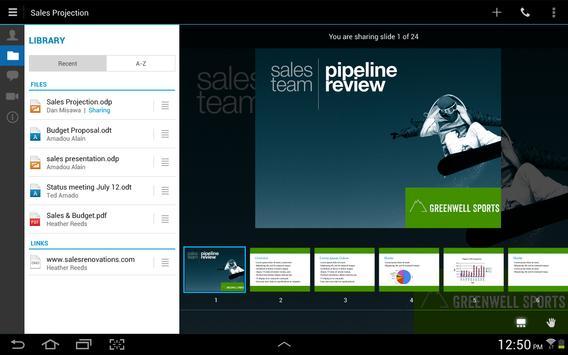 IBM Connections Meetings apk screenshot