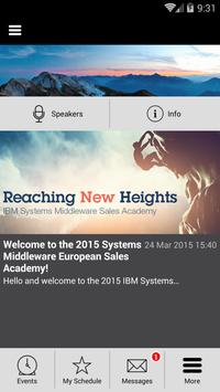 IBM Systems Middleware Madrid poster