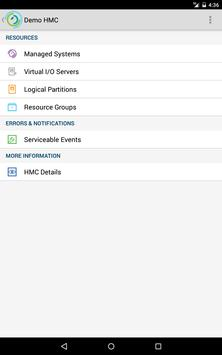 IBM myHMC apk screenshot