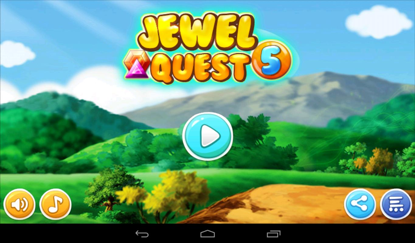 screen 10=x800 Puzzle Game Jewel Quest