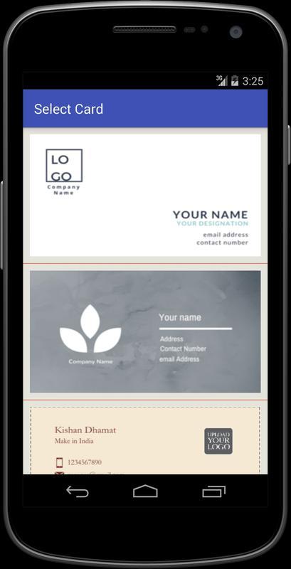Business Card Maker APK Download Free Business APP for