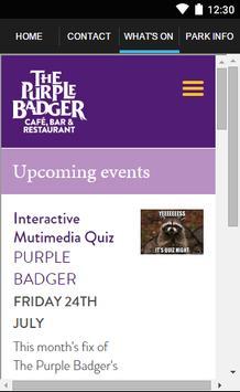 The Purple Badger apk screenshot